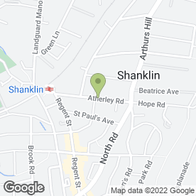 Map of A & I Roofing in Shanklin, isle of wight