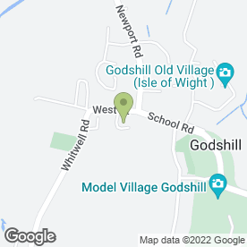 Map of T Mennell Ltd in Godshill, Ventnor, isle of wight