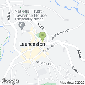 Map of CAMEO BEAUTY in Launceston, cornwall