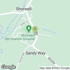 Map of Earthscapes in Shorwell, Newport, isle of wight