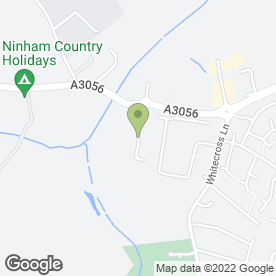Map of Viking Blinds Ltd in Sandown, isle of wight