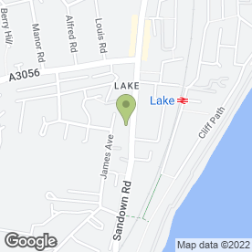 Map of Ashleigh House Hotel in Lake, Sandown, isle of wight
