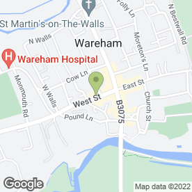 Map of Rex (Wareham) Ltd in Wareham, dorset