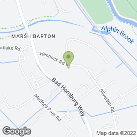 Map of Allparts South West Ltd in Marsh Barton Trading Estate, Exeter, devon