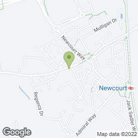 Map of St. Bridget Nurseries & Garden Centre in Exeter, devon