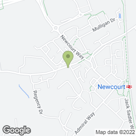 Map of Haven Conservatories Ltd in Exeter, devon