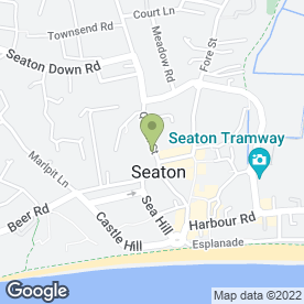 Map of Just Hair in Seaton, devon