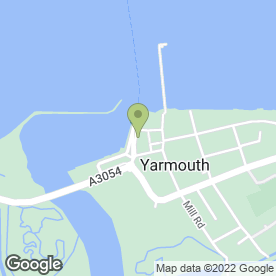 Map of Black Rock Charters in Yarmouth, isle of wight