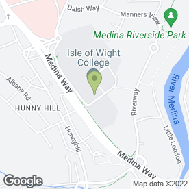 Map of Tops Day Nursery in Newport, isle of wight