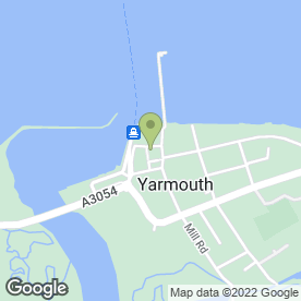 Map of Yarmouth Sub P.O in Yarmouth, isle of wight