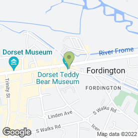 Map of The Bulls Head Inn, in Fordington, Dorchester, dorset