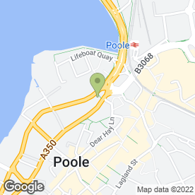 Map of National Tyres and Autocare in Poole, dorset