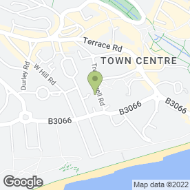 Map of Pinedale Hotel in Bournemouth, dorset