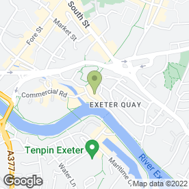 Map of M Harvey Hair in Exeter, devon