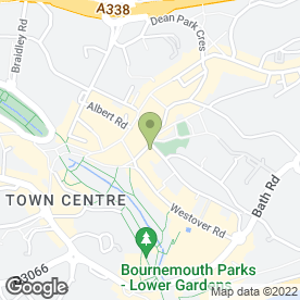 Map of Gervis News in Bournemouth, dorset