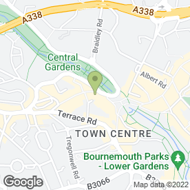 Map of Burger King (UK) Ltd in Bournemouth, dorset
