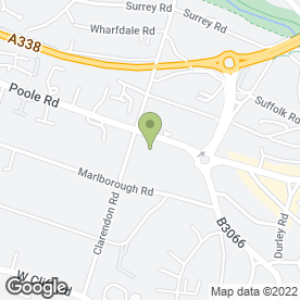 Map of Poole Road Medical Centre in Bournemouth, dorset