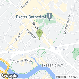 Map of Richard's Aquatic Centre in Exeter