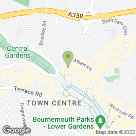 Map of Square Newsagents Ltd in Bournemouth, dorset