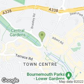 Map of La Tasca in Bournemouth, dorset