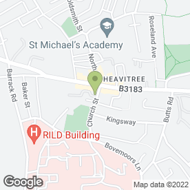 Map of TFS Carpentry & Construction in Heavitree, Exeter, devon