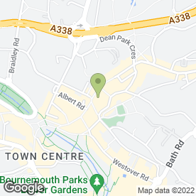 Map of Greggs in Bournemouth, dorset
