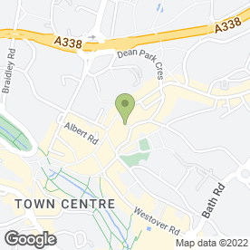Map of Peaches in Bournemouth, dorset