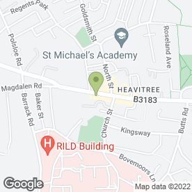 Map of Heavitree Tandoori in Heavitree, Exeter, devon