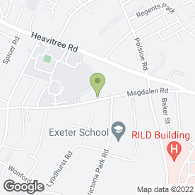 Map of CTS in Exeter, devon