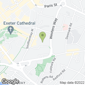 Map of Foot Anstey LLP in Exeter, devon