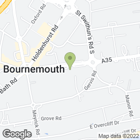 Map of Aldridge Brownlee Solicitors LLP in Bournemouth, dorset