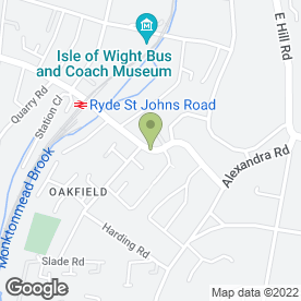 Map of RYDE DEMOLITION in Ryde, isle of wight