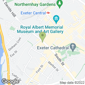 Map of Steaks & Sushi in Exeter, devon