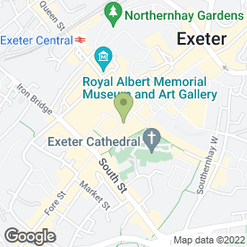 Map of Hotter in EXETER, devon