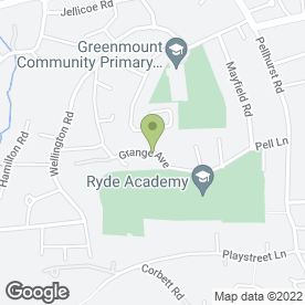 Map of Islandwide Services in Ryde, isle of wight