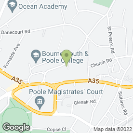 Map of Dispatchit in Poole, dorset