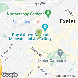 Map of Tiddlers & Toes in EXETER, devon