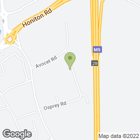 Map of U Drive in Exeter, devon