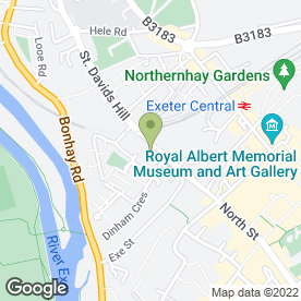 Map of Tabs Ltd in Exeter, devon