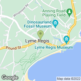 Map of Fortnam, Smith & Banwell Estate Agents in Lyme Regis, dorset