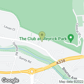 Map of Freshbox (Bournemouth) Ltd in Bournemouth, dorset