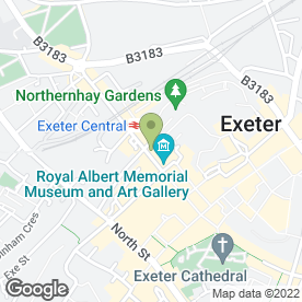 Map of RK Sealants in Exeter, devon