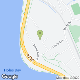 Map of P A R Roofing in Poole, dorset