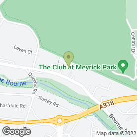 Map of Step Scaffolding in Bournemouth, dorset