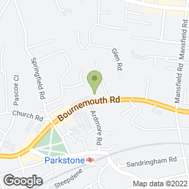 Map of NATASHA HEALTH & BEAUTY in Poole, dorset