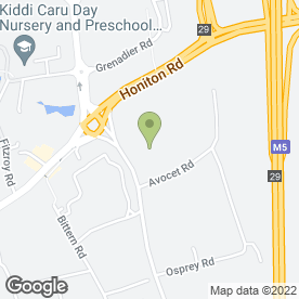 Map of Coffee Shop in Sowton Industrial Estate, Exeter, devon