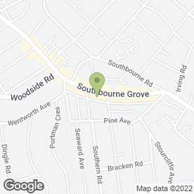 Map of Goadsby in Bournemouth, dorset