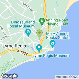 Map of Finishing Touch in Lyme Regis, dorset