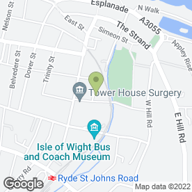 Map of EDMUNDSON ELECTRICAL in Ryde, isle of wight