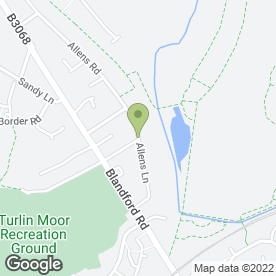 Map of Hamworthy MOT Centre in Hamworthy, Poole, dorset